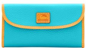 Dooney & Bourke Patterson Leather Continental Clutch Wallet - CALYPSO - STYLE