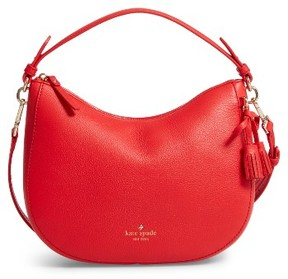 Kate Spade New York Hayes Street Small Aiden Leather Hobo - Red