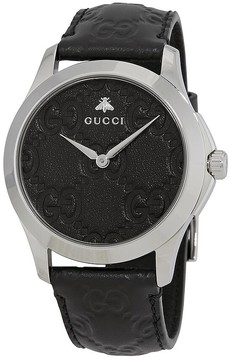Gucci G-Timeless Black Dial Men's Watch