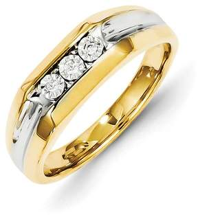 Ice 14k Diamond Mens Ring