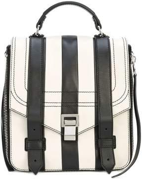 Proenza Schouler Patchwork Stripe PS1+ Backpack