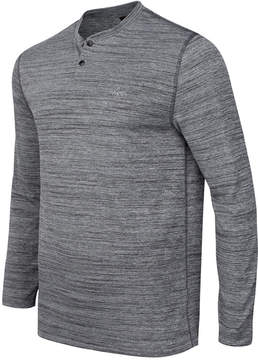 Greg Norman For Tasso Elba Men's Performance Space-Dyed Henley, Created for Macy's