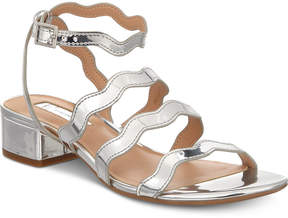 INC International Concepts I.n.c. Women's Leticia Strappy Block-Heel Sandals, Created for Macy's Women's Shoes