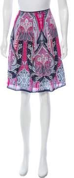 Tahari Printed Knee-Length Skirt