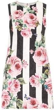 Dolce & Gabbana Printed jacquard minidress