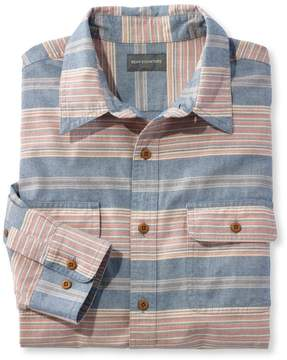 L.L. Bean L.L.Bean Signature Castine Flannel Shirt, Stripe
