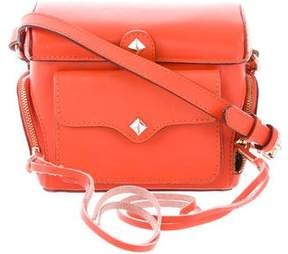 Rebecca Minkoff Moto Crossbody Bag - ORANGE - STYLE