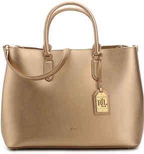 Lauren Ralph Lauren Women's Dryden Marcy Leather Tote