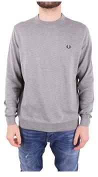 Fred Perry Men's Grey Cotton Sweatshirt.