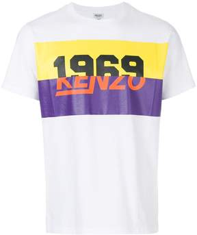 Kenzo 1969 print T-shirt
