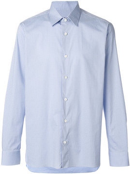 Z Zegna classic fitted shirt