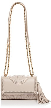 Tory Burch Micro Fleming Crossbody - BEDROCK/GOLD - STYLE