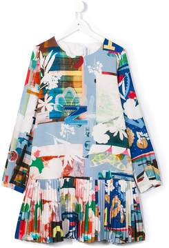 Simonetta printed dress