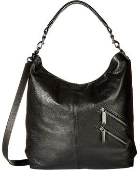 Rebecca Minkoff Jamie Convertible Hobo Handbags - BLACK - STYLE