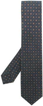 Barba floral pattern tie