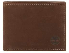 Timberland Nubuck Slimfold Leather ID Wallet
