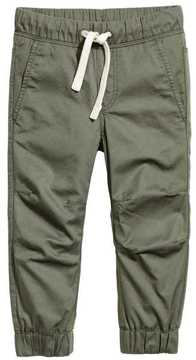 H&M Cotton Pull-on Pants