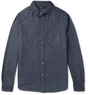 Alex Mill Slim-Fit Button-Down Brushed-Cotton Shirt