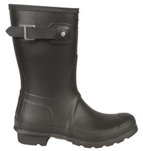Hunter Women's Grey Rubber Ankle Boots.