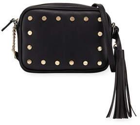 Neiman Marcus Cori Studded Crossbody Bag