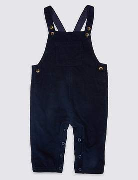 Marks and Spencer Pure Cotton Cord Dungarees