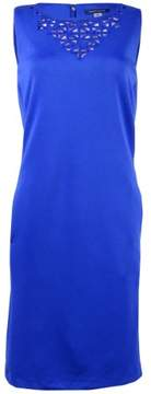 Tommy Hilfiger Women's Cutout Pocket Sheath Dress