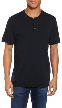 James Perse Men's Contrast Stitch Henley T-Shirt