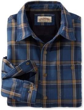 L.L. Bean L.L.Bean Katahdin Iron Works Fleece-Lined Canvas Shirt