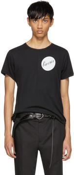 Ann Demeulemeester Black Lavenier T-Shirt