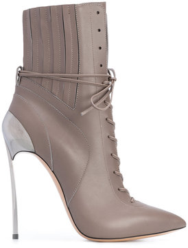 Casadei Techno Blade lace-up booties