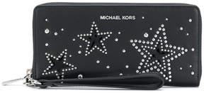 MICHAEL Michael Kors Starry zip around wallet