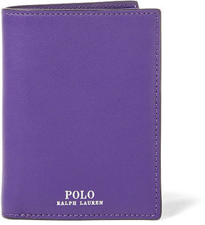 Polo Ralph Lauren Snapped Leather Billfold
