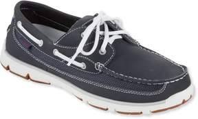 L.L. Bean L.L.Bean Portlander Free Flex Boat Shoes, Leather/Mesh