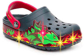 Crocs Boys Fire Dragon Toddler & Youth Light-Up Clog