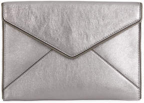 Rebecca Minkoff envelope shaped clutch - GREY - STYLE