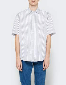 Our Legacy Initial SL Shirt Blue Classic Stripe