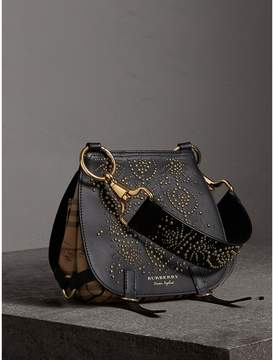 Burberry The Bridle Bag in Fruit and Flowers Riveted Leather