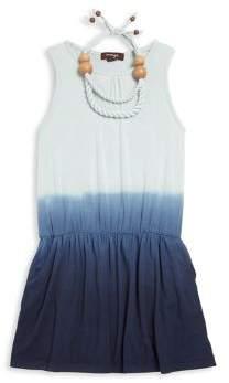 Imoga Toddler's, Little Girl's & Girl's Ombre Dress