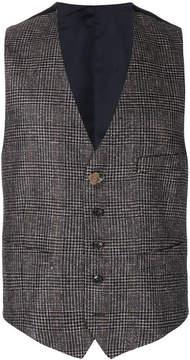 Lardini tailored fitted waistcoat