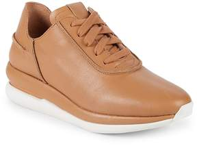 Gentle Souls Women's Raina Lace-Up Leather Sneakers
