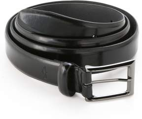 Dockers Feathered-Edge Leather Belt - Extended Size