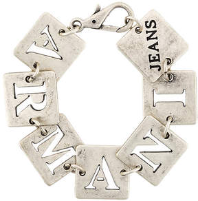 Armani Jeans cut out square bracelet