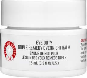 First Aid Beauty Eye Duty Triple Remedy Overnight Balm