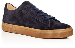Vince Men's Kurtis Weatherproof Suede Lace Up Sneakers