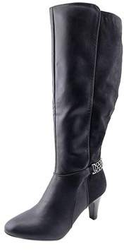 Karen Scott Womens Haidar Almond Toe Knee High Fashion Boots.