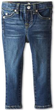 7 For All Mankind Kids - Skinny Jean in Nouveau New York Dark Girl's Jeans
