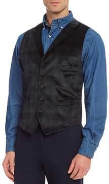 Daniel Cremieux Travis Blackwatch Velvet Vest