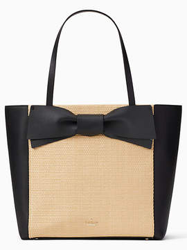 Kate Spade Olive drive straw savannah - LIGHT NATURAL - STYLE