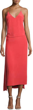 Alexis Analiai Wrap Slip Dress, Pink