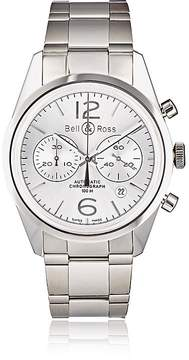 Bell & Ross Men's BR 126 Officer Silver Watch